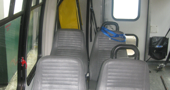 Cheshire Wheelchair Bus (Inside)